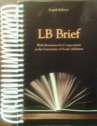 Lb Brief with Resources for Composition At the University of South Alabama