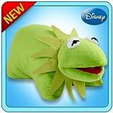 Pillow Pets Authentic Disney 18 Kermit, Folding Plush Pillow- Large