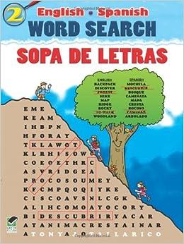 English-Spanish Word Search/Sopa de Letras #2 (Dover Children's