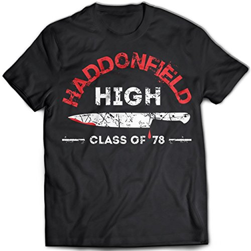 9227 HADDONFiELD HiGH SCHOOL T-SHIRT HALLOWEEN John