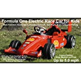 RIDE ON ELECTRIC FORMULA ONE RACE CAR Car for kids - Cars that Kids can Drive on their own!