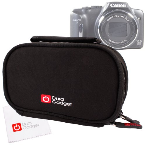 duragadget-black-neoprene-lightweight-zip-locked-carry-case-with-accessories-space-for-canon-powersh