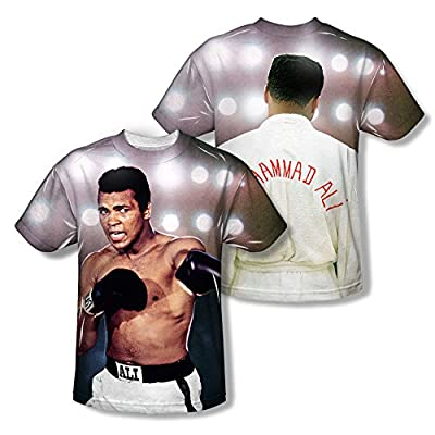 Muhammad Ali Hit The Lights All Over Print Front / Back T-Shirt