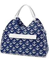 "Water Resistant Beach Bag with Inside Lining & Top Handle - 22"" Long"
