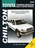 img - for Toyota Tundra and Sequoia 2000 - 2007 book / textbook / text book