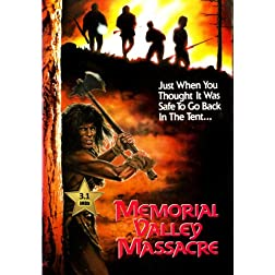 Memorial Valley Massacre [VHS Retro Style] 1989
