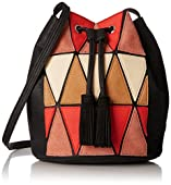 BCBGeneration La Vie Boheme Patchwork Bucket Cross Body Bag