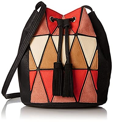 BCBGeneration La Vie Boheme Patchwork Bucket Cross Body Bag