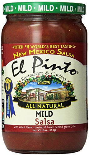El Pinto Mild Salsa, 16 Ounce (Pack of 6)