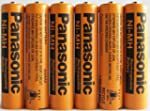 Panasonic NiMH AAA Rechargeable Batte...