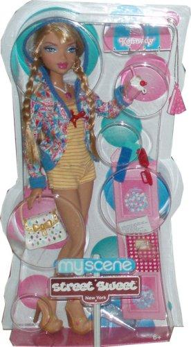 "Myscene Street Sweet New York Barbie 12 Inch Doll : Kennedy ""Sweet Treats, Yummy Fashions!"" My Scene front-961430"