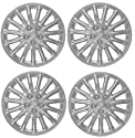 Set of Four 1998, 1999, 2000, 2001 Chrysler LHS Style 16 Inch Silver Hubcaps Wheel Covers