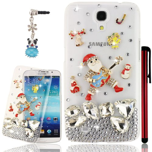 Ancerson Golden White Blue Red Yellow Pink Silvery Colorful Santa Claus With A Guitar Bell Rain-Drop Deer Snowman Building Stocking Snowflake Daisy Cloth Skirt Ballerina Girl Pearls Eye-Catching New Stylish Luxury 3D Diy Glitter Crystal Diamond Rhinestone