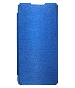 TBZ Flip Cover Case for Micromax Canvas Nitro A311 -Blue