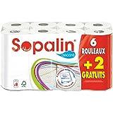 Sopalin - 409225 - Essuie Tout Coeur - 6 + 2 Gratuit