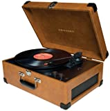 Crosley CR6249A-TA Keepsake Portable USB Turntable (Tan)
