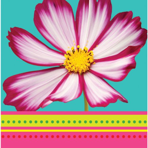 Island Flowers 3-Ply Lunch Napkins
