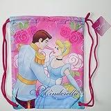 Disney Princess Cinderella Girls Drawstring School PE / Swim Bag Sports Fitness Exercise Swimming Gym Kids Childrens Backpack Rucksack Toy