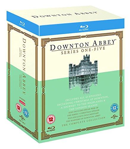 Downton Abbey Season 1 - 5 / ダウントン アビー シーズン 1 - 5 [Blu-ray] (import)