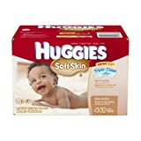 Huggies Soft Skin Baby Wipes Pop-Up Refill, 448 Count (Packaging may vary) Baby, NewBorn, Children, Kid, Infant