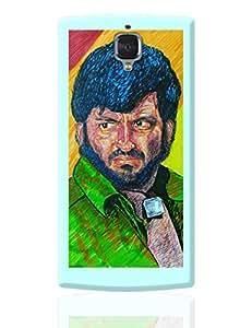 PosterGuy OnePlus 3 Case Cover - Gabbar | Designed by: VarTOONS