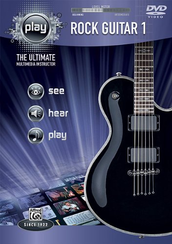 Alfred's Play Series Rock Guitar 1 [DVD] [Import]