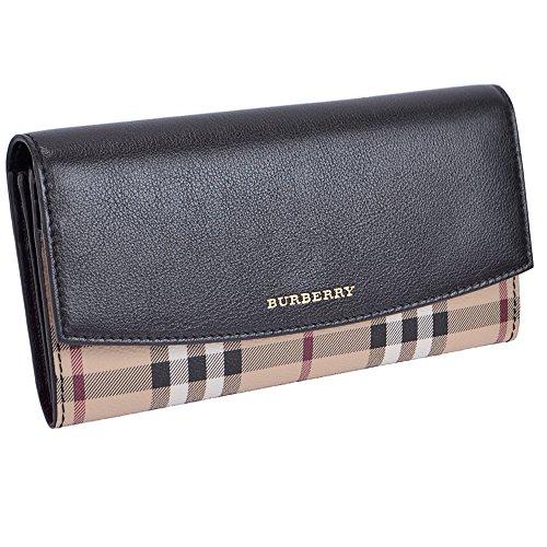 バーバリー BURBERRY 長財布 レディース ブラック 3922383-BLACK [並行輸入品]