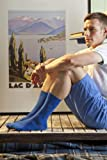 Mens 3 Pair Pringle Selkirk Mini Dots And Plain Socks In 4 Colours