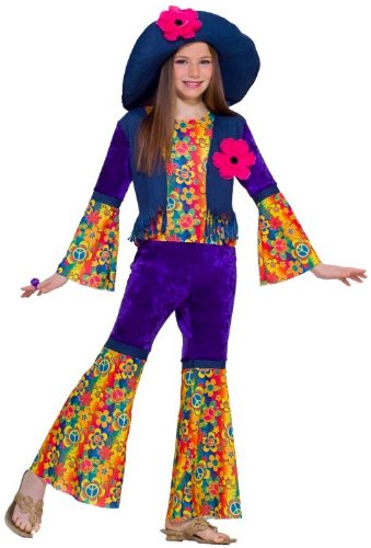 Flower Child Hippie Costume