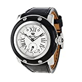 Glam Rock Women's GR10059 Miami Collection Black Patent Leather Watch