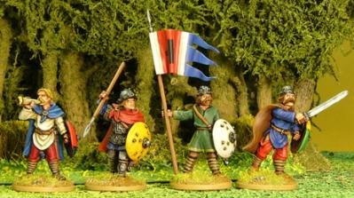 Artizan Designs Carolingians: Carolingian Infantry Command (4)