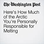 Here's How Much of the Arctic You're Personally Responsible for Melting | Brady Dennis