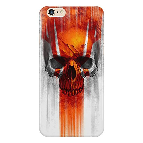 Cover Custodia Protettiva Teschio Infernale Fuoco Skull Infernal Fiamme Death Morte Design Illustrazione Case Iphone 4/4S/5/5S/5SE/5C/6/6S/6plus/6s plus Samsung S3/S3neo/S4/S4mini/S5/S5mini/S6/note