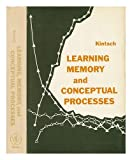 img - for Learning, Memory and Conceptual Processes (Series in psychology) book / textbook / text book