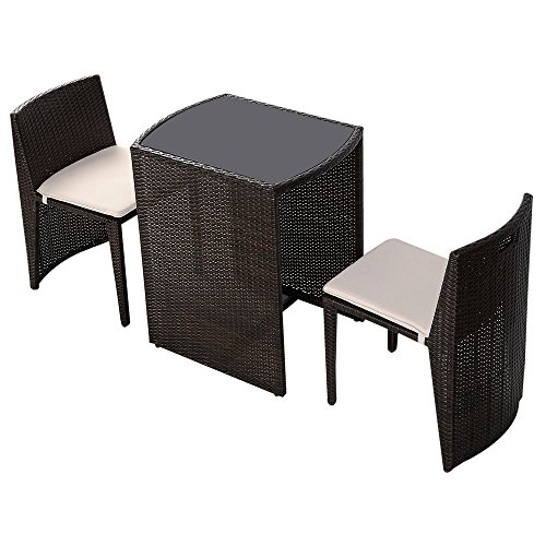 Tomtop-3PCS-Cushioned-Outdoor-Wicker-Patio-Set-Garden-Lawn-End-Table-Chair-Furniture-Seat-Brown