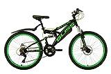 KS Cycling Kinder Fahrrad Mountainbike Fully Bliss RH 38 cm