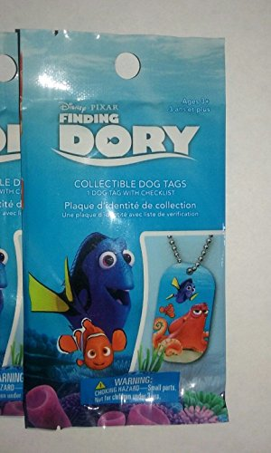 Finding Dory Blind Packs Collectible Dog Tags