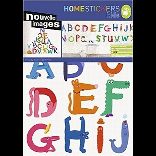 Schule - Tier-Alphabet Wand-Tatoos
