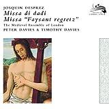 """echange, troc  - Missa Di Dadi - Missa """"Faysant Regretz"""""""