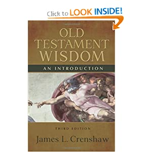 Mon premier blog old testament wisdom an introduction james l crenshaw fandeluxe Images
