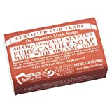 Dr. Bronner's Eucalyptus Bar Soap Made with Organic Ingredients 141 g
