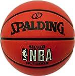Spalding NBA Silver Logo Outdoor Bask...