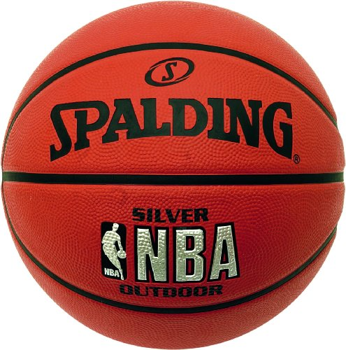 Spalding 73-285Z Basketbälle NBA Silver Outdoor, 7
