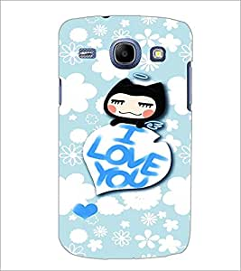 PrintDhaba Love Quote D-2931 Back Case Cover for SAMSUNG GALAXY MEGA 5.8 (Multi-Coloured)