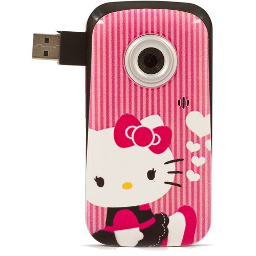 Hello Kitty Snapshots Digital Video Camcorder with 1.5-Inch Screen, Pink (38609)