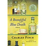 A Beautiful Blue Death (Charles Lenox Mysteries) ~ Charles Finch