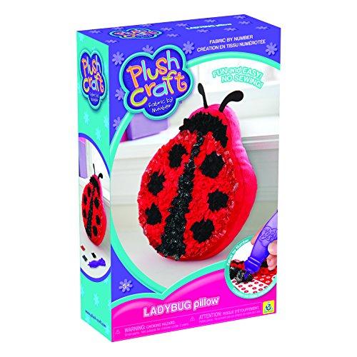 Plush-Craft-Ladybug-Pillow
