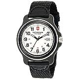 Victorinox Men's 249086 Original XL Analog Display Swiss Quartz Black Watch