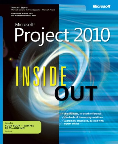 Microsoft Project 2010 Inside Out (Can You Find It Inside compare prices)