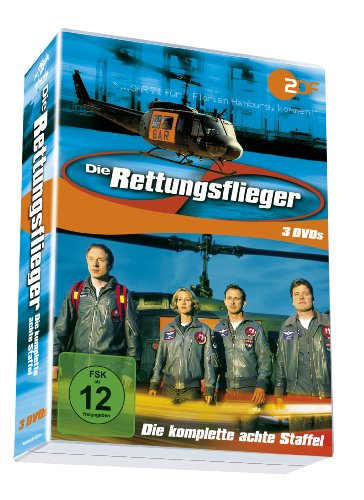 Die Rettungsflieger - Die komplette achte Staffel (3 DVDs)
